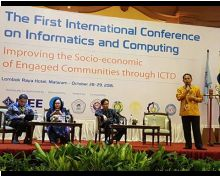 The First International Conference on Informatics and Computing - ICIC 2016